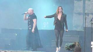 Disturbed with Lzzy Hale @ Download Festival (UK) 2016