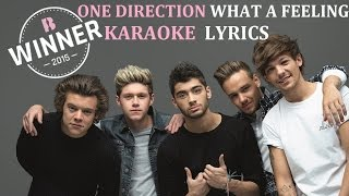 ONE DIRECTION - WHAT A FEELING KARAOKE COVER LYRICS