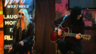 The Pretty Reckless performs Heaven Knows (Acoustic)