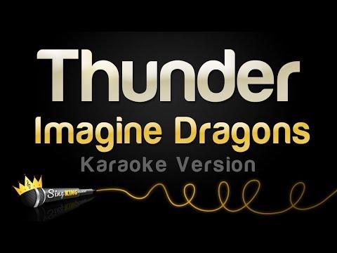 Imagine Dragons - Thunder (Karaoke Version) - YouTube