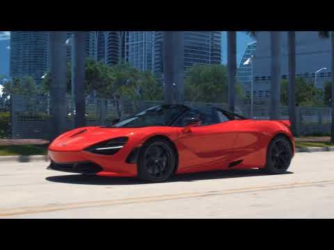 Orange Rush - McLaren 720S Spider