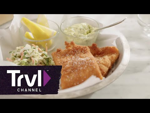 Andrew Zimmern's Whitefish Shore Lunch - Travel Channel