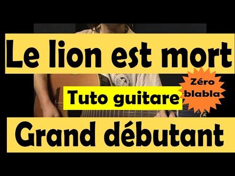 Comment jouer le lion est mort ce soir à la guitare