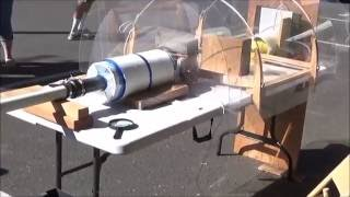 Supersonic Ping Pong Ball Launcher new Speed Record, 865 meters/second (1935 MPH)