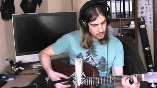 Slipknot - Vermillion part.2 (Acoustic guitar cover)