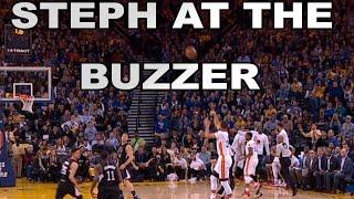 Stephen Curry Splashes Half-Court Buzzer-Beater! | 01.28.17