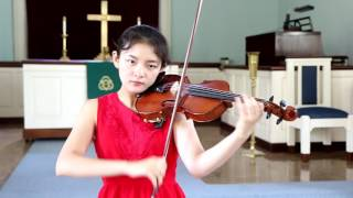 Rieding Violin Concerto in B minor op 35 1st Mov. by Jennifer Jeon