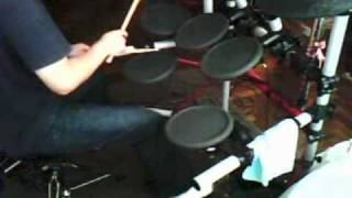 El Negro Cósmico - Cover bateria - Caifanes - Alfonso André