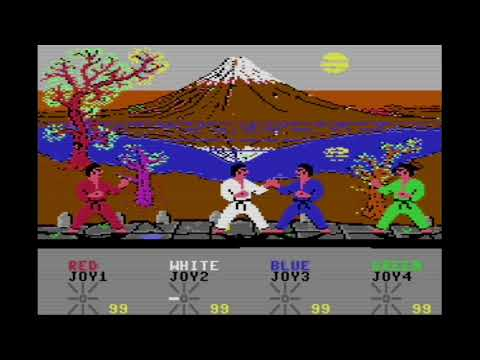 Fantastic 4 International Karate (2018) | Preview | C64 | Homebrew World