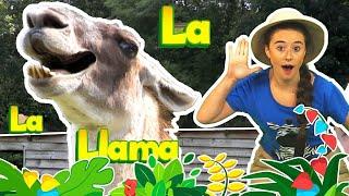 Llama Song | Elli Explorer | Nursery Rhymes | Kids Songs | Children Rhymes - Nursery Rhymes Time