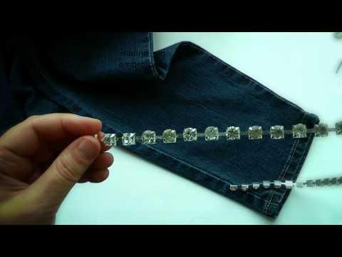 DIY  Ideas for your jeans | Вышивка: Идеи для ваших джинсов
