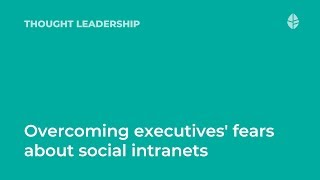 Interview with Deane Barker   Overcoming executives' fears about social intranets Logo