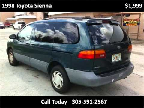 1998 Toyota Sienna Problems Online Manuals And Repair