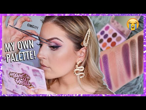 I LAUNCHED MY OWN PALETTE... omg!! ? xoBeauty Heaps Of Sweets Eyeshadow Palette