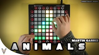 Martin Garrix - Animals(Christmas Remix)//Launchpad Cover