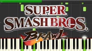 Super Smash Bros Brawl - Bramble Blast (Piano)