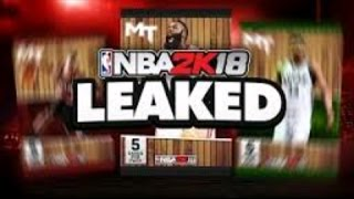2K18 LEAKED OMG THEY PRAYING ON MY DOWNFALL