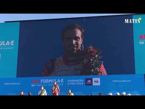 Video : Formula E : Le pilote belge Jérôme d'Ambrosio arrache la victoire à Marrakech