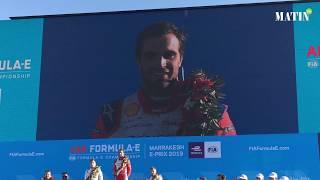 Formula E : Le pilote belge Jérôme d'Ambrosio arrache la victoire à Marrakech