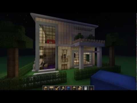 Burak Minecraft'ta Bölüm 8 - Modern Mimari Ve Ödüllü Yarışma