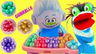 Guy Diamond has McDonald's Happy Meal & Colorful Gumballs