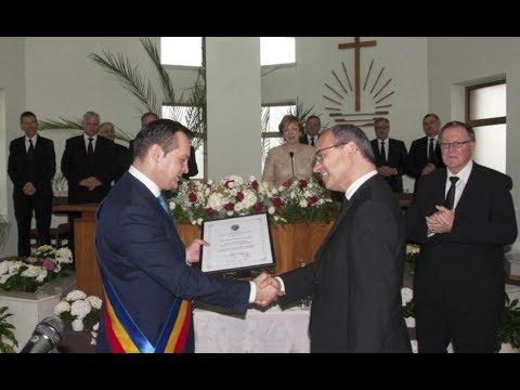 Honorary citizen award conferred