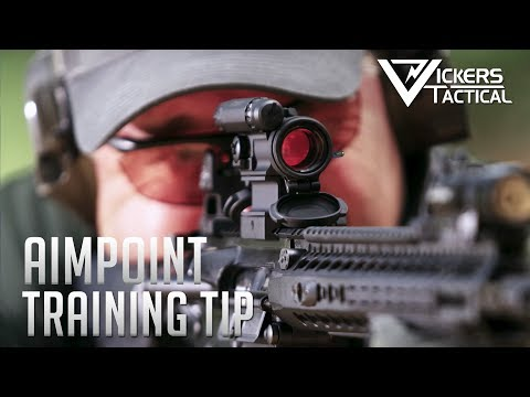 Aimpoint Training Tip 4K