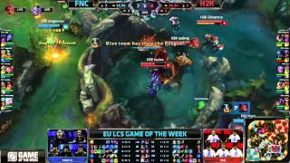 FNC vs H2K Dragon Steal
