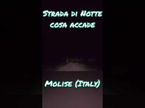 Ecco cosa accade nelle strade di notte in Basso Molise (Italia) #shorts