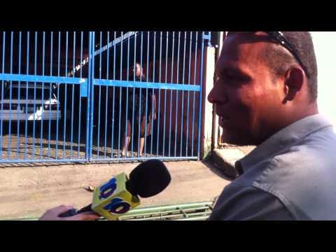 Managua Nicaragua trifulca y enfrentamiento de calle Canal 10