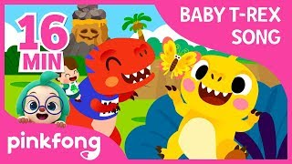 I'm a Baby T-Rex and more   +Compilation   Baby T-Rex Songs   Pinkfong Songs for Children