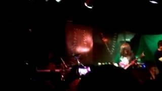 Metal band perform