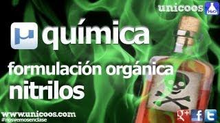 Imagen en miniatura para Química orgánica - Nitrilos