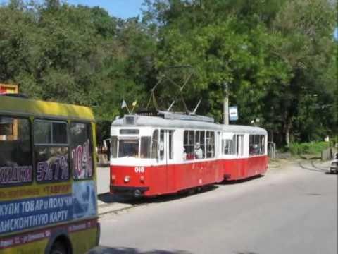 Ukraina, Eupatoria. Linia tramwajowa 2.