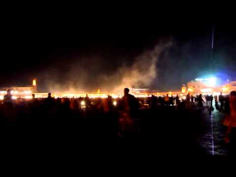 Marrakech – Jamal el Fna – Night (1)