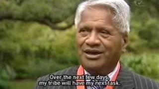 Rawiri Te Whare receives Honours award Te Karere Maori News TVNZ