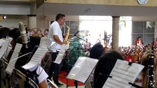 Agnus Dei Instrumental Sax Alto - (Digno Tu És) ENBO 2015 - Imperatriz