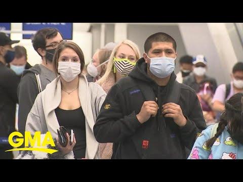 Biden mandating masks for interstate travelers nationwide | GMA