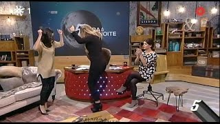 Kátia Aveiro dança o Bailinho da Madeira - 5 Para a Meia-Noite