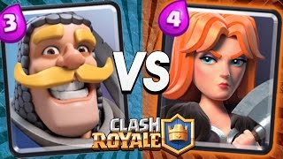 RAP BATTLE EPICA: VALCHIRIA vs CAVALIERE [CLASH ROYALE]
