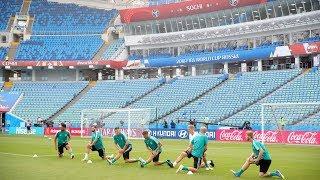 FIFA-PK und Abschlusstraining in Sotschi