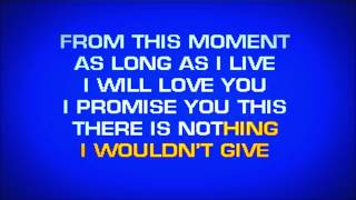 Shania Twain - From This Moment On (Karaoke HD) width=