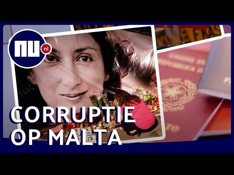 Moord op journalist en paspoorthandel: hoe corrupt is Malta? | NU.nl
