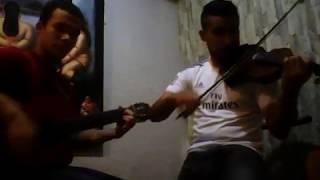 Bendita tu Luz de Maná en guitarra y violín (cover