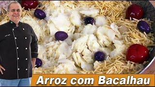 Arroz com Bacalhau Especial do Chef Taico