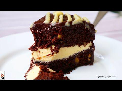 """Шоколадный Торт """"КАРО""""  Очень вкусный и интересный    Chocolate cake recipe"""