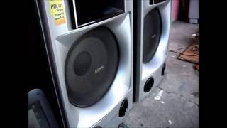 power amplifier DIY bass test