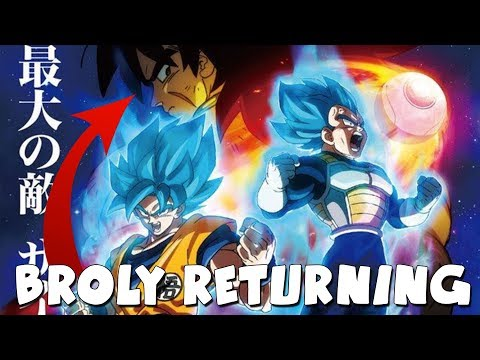 YES IT'S TRUE! BROLY IS COMING TO DRAGON BALL SUPER MOVIE