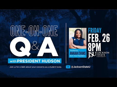 One-on-One Q&A with President Hudson