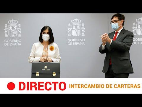 #DIRECTO 🔴 ILLA entrega a CAROLINA DARIAS la cartera de MINISTRA de SANIDAD   RTVE Noticias